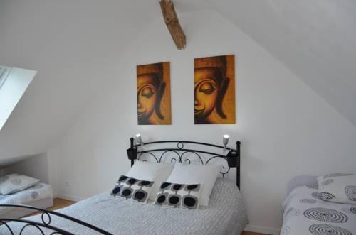 La Grange de la Gandonnerie : Guest accommodation near Baugé