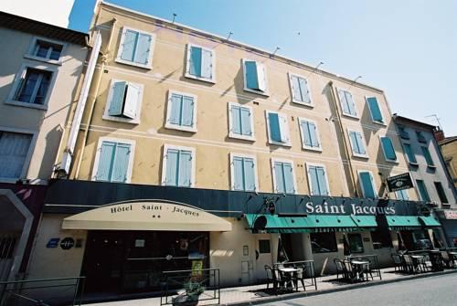 Hôtel Saint Jacques Logis de France : Hotel near Guilherand-Granges