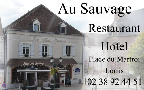 Au Sauvage : Hotel near Bellegarde