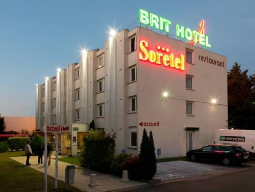 Brit Hotel Bordeaux Aéroport - Le Soretel : Hotel near Mérignac