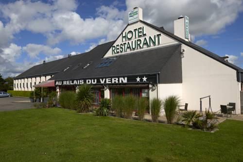 Brit Hotel Relais Du Vern : Hotel near Bodilis