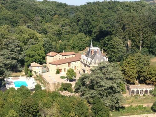 Chateau d'Urbilhac : Bed and Breakfast near Arlebosc