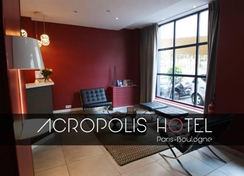 Acropolis Hotel Paris Boulogne : Hotel near Boulogne-Billancourt