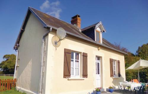 Holiday home Le Dezert with a Fireplace 415 : Guest accommodation near Airel