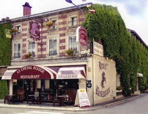Le Cheval Rouge : Hotel near Dommartin-Dampierre