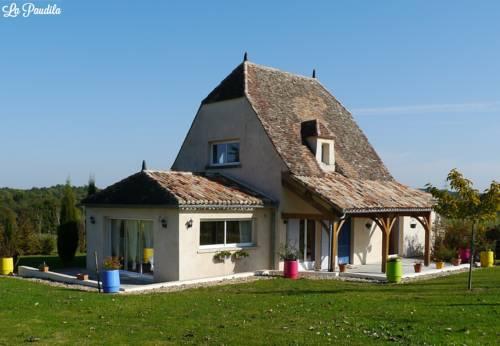 La Paudila : Guest accommodation near Montpon-Ménestérol