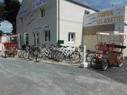 Camping les Mouettes : Guest accommodation near Agon-Coutainville