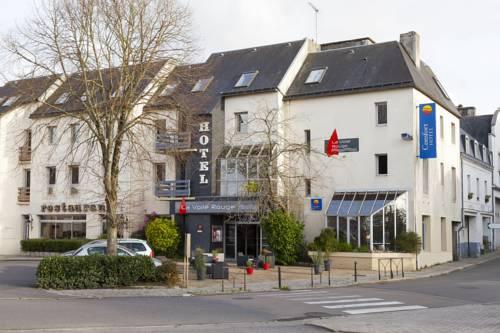 Comfort Hotel Rosporden Concarneau : Hotel near Scaër