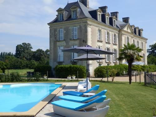Château La Mothaye : Guest accommodation near Cuon