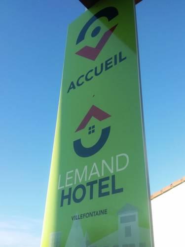 Lémand Hotel : Hotel near Artas