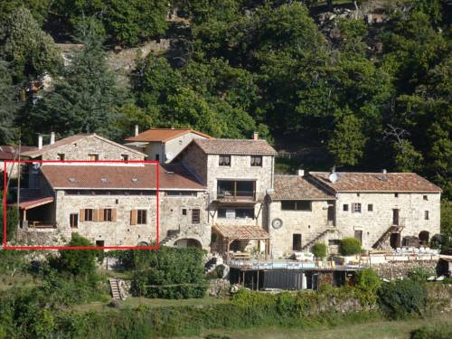 Le Bonheur : Guest accommodation near Antraigues-sur-Volane
