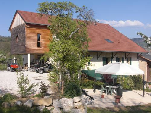 La Ferme De Cortanges : Guest accommodation near Pougny