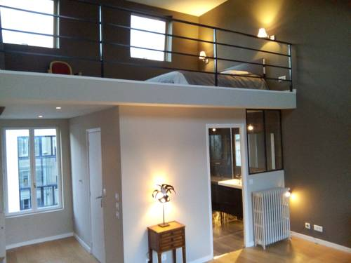 Luxury loft with Roof top : Guest accommodation near Suresnes