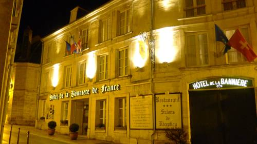 Hôtel De La Banniere De France : Hotel near Bucy-lès-Cerny