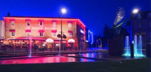 Inter-Hotel Le Boeuf Rouge : Hotel near Saint-Junien