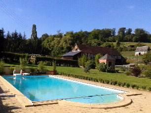 Gîte du val fouqué : Guest accommodation near Saint-Evroult-Notre-Dame-du-Bois