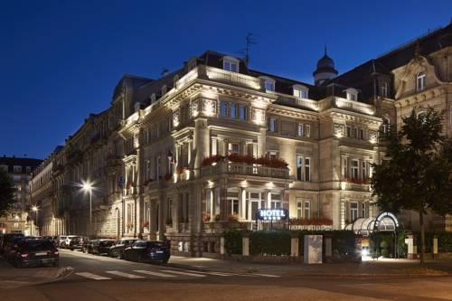 Hotel Regent Contades Best Western Premier Collection : Hotel near Strasbourg