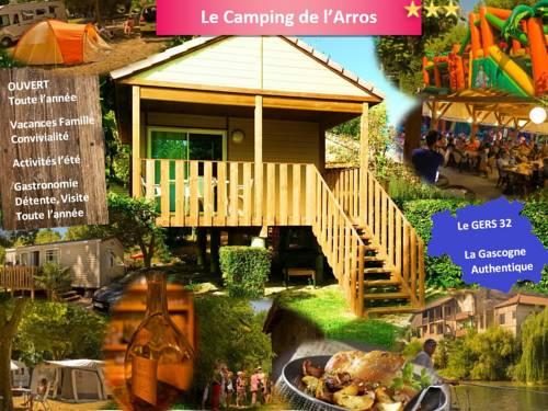 Camping de l'Arros : Guest accommodation near Plaisance