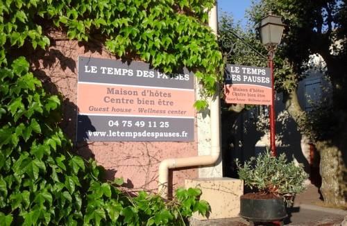 Le temps des pauses : Guest accommodation near Viviers