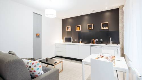 Le 9ème:studio contemporain à 300m du métro Lyon Vaise : Apartment near Tassin-la-Demi-Lune