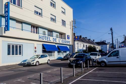 Comfort Hotel de l'Europe Saint Nazaire : Hotel near Saint-Nazaire