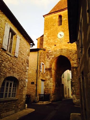 Clocktower Cottage : Guest accommodation near Auriac-sur-Dropt