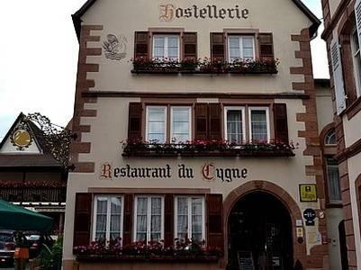 Hostellerie au Cygne : Hotel near Crœttwiller