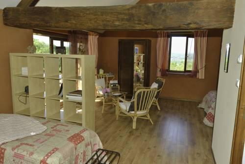 La Trancoulette : Bed and Breakfast near Murs-et-Gélignieux