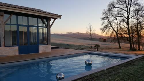 Le Vallon De Guerry : Bed and Breakfast near Baleyssagues