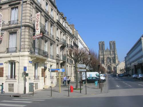 Reims map of reims 51100 france for Hotels reims