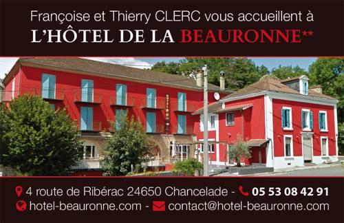Hôtel de La Beauronne : Hotel near Chancelade