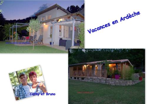gite du devez des bruyéres : Guest accommodation near Jaujac