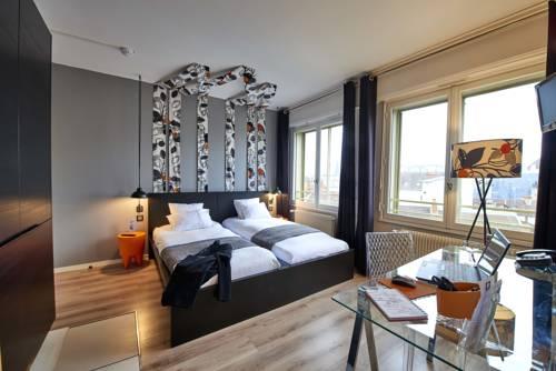 L'aparthoteL LhL : Guest accommodation near Dijon