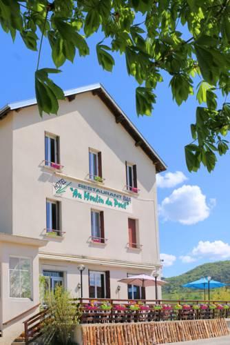Au Moulin Du Pont : Hotel near Thoirette