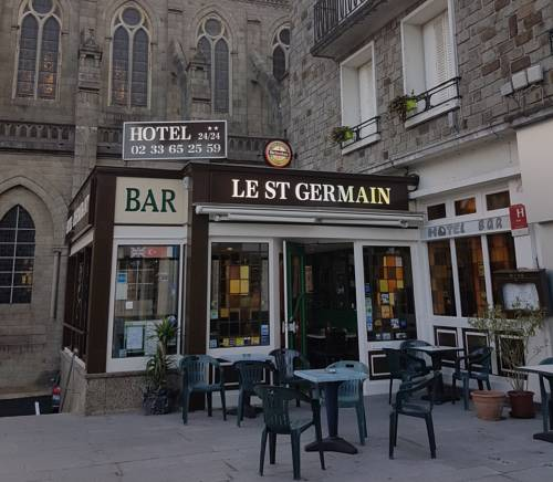 Hotel le Saint Germain : Hotel near Flers
