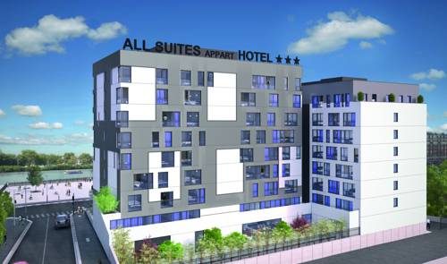 All Suites Appart Hotel Choisy Le Roi : Guest accommodation near Créteil