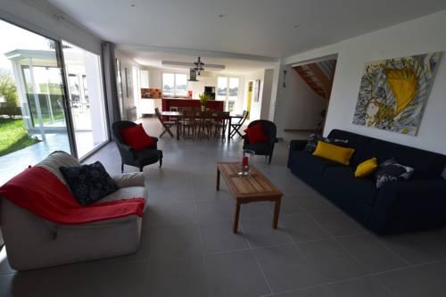 VILLA DE LA PLAGE et du PÔLE NAUTIQUE : Guest accommodation near Acqueville