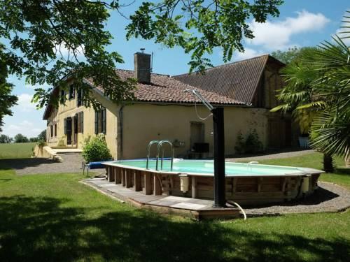 Entre Vic Fezensac Et Bassoues Dans Le Gers : Guest accommodation near Tudelle