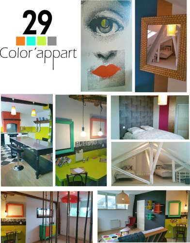 29 color'appart : Apartment near Saint-Martin-Rivière