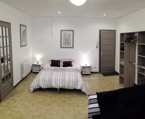 studio avec patio : Hotel near Loire