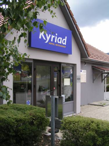 Kyriad Bellegarde - Genève : Hotel near Lhôpital