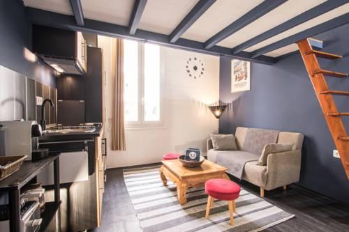 Studio Mezzanine Bleu : Apartment near Roquebrune-Cap-Martin