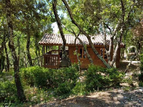 Camping Ibie : Guest accommodation near Lagorce