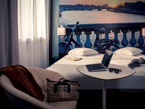 Mercure Paris Ivry Quai De Seine : Hotel near Saint-Maurice