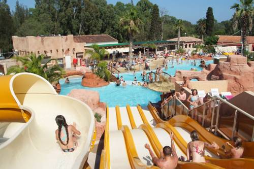 Camping Les Palmiers : Guest accommodation near Hyères
