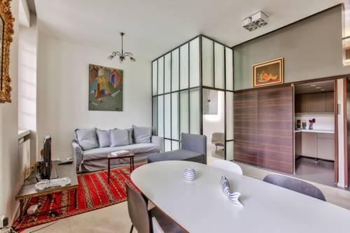 45-ATELIER PARIS BUTTES CHAUMONT : Apartment near Le Pré-Saint-Gervais