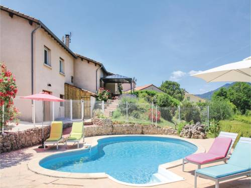 Five-Bedroom Holiday Home in St Fortunat sur Eyrieu : Guest accommodation near Rompon