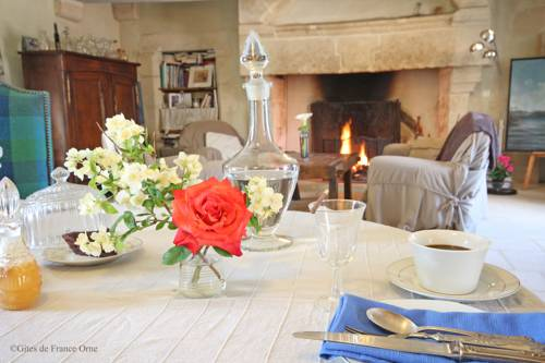 Manoir de Coulandon : Bed and Breakfast near Aunou-le-Faucon