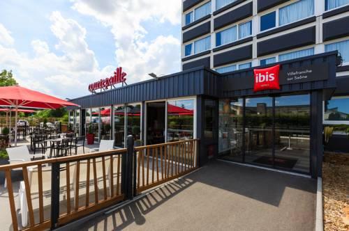 Ibis Villefranche Sur Saone : Hotel near Jassans-Riottier