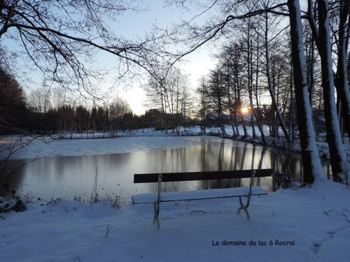 La maison du lac : Guest accommodation near Éteignières
